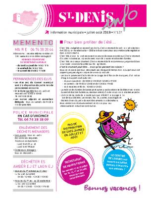 Saint Denis Info N°127